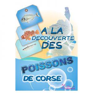 Plaquette enfant : À la découverte des poissons de Corse