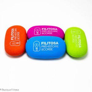 Ensemble des gommes colorées Filitosa
