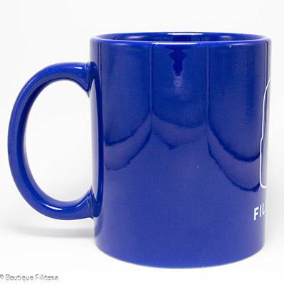 MUG bleu Filitosa XIII côté