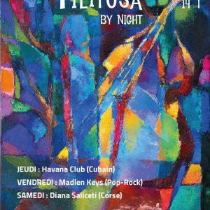 Affiche Festival Filitosa By night 2021 Corse